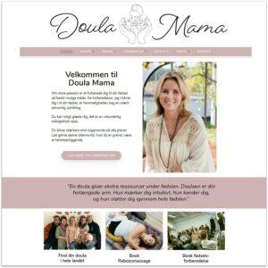 Doula Mama Christina ·Webdesign af Camille Viktoria