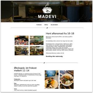 MADEVI · Webdesign af Camille Viktoria · Pure Creative Content