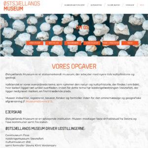 Hjemmeside designet af Pure Creative Content