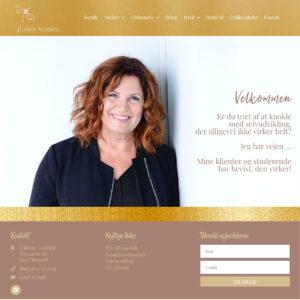 Webdesign af Camille Viktoria