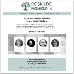Roskilde Fødeklinik ·Designet af Camille Viktoria